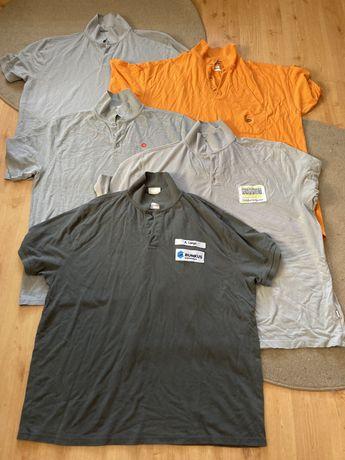 Koszulki robocze uzywane Niemieckie duze rozmiary