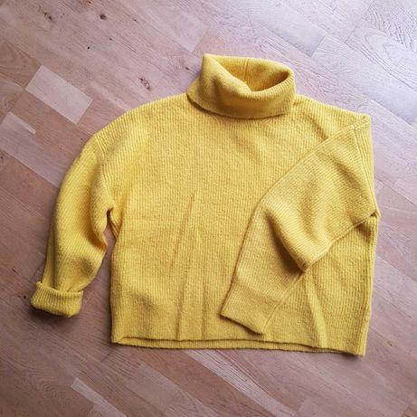 Golf sweter M ciepły