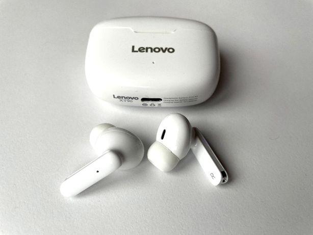 Lenovo XT90 TWS Беспроводные наушники USB Type-C БЕЛЫЕ