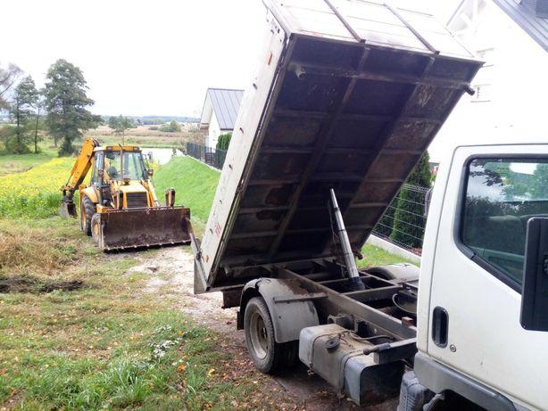 Transport wywrotka do 3.5 tony koparko ładowarka