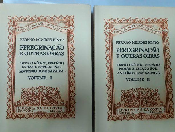 1° edição: Peregrinação  de Fernando M. Pinto. assinadas e numeradas