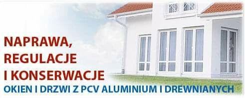 Naprawa okien drzwi rolet pcv aluminium drewno