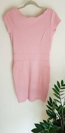Różowa sukienka - MOHITO