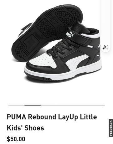 Puma кросівки кроссовки ботинки 30р(19см)