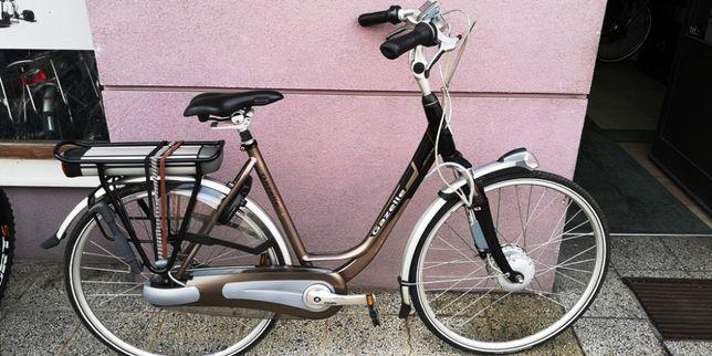 Gazelle Orange Excellent.Rower elektryczny Holenderski. Nexus8,Gold