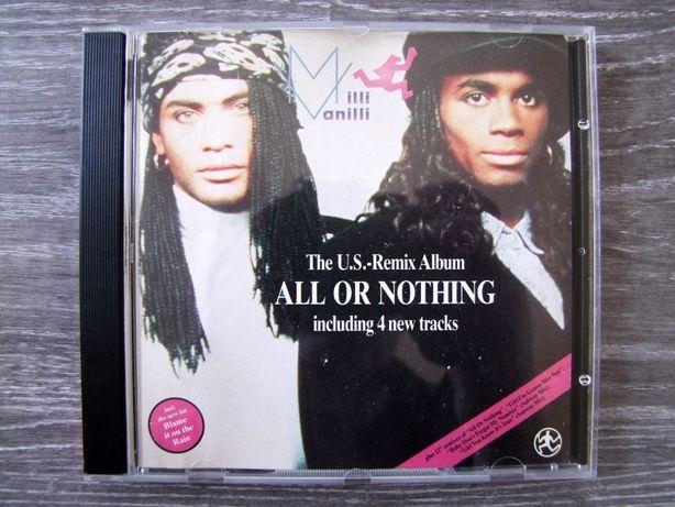 Milli Vanilli - The U.S. Remix Album '' All Or Nothing ''