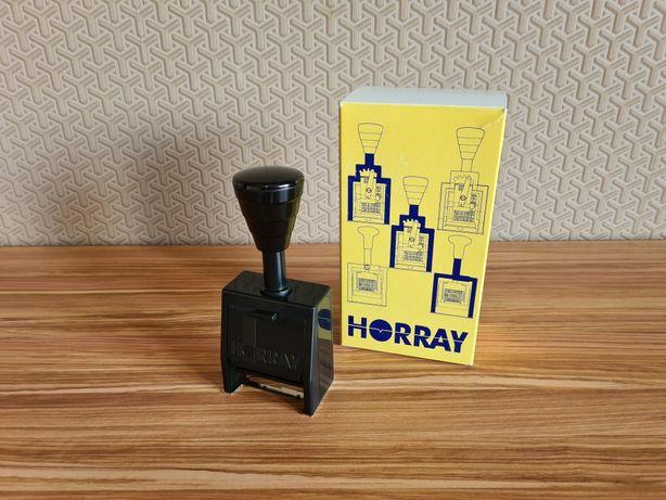 Numerator automatyczny metalowy Horray H57 pieczątka stempel