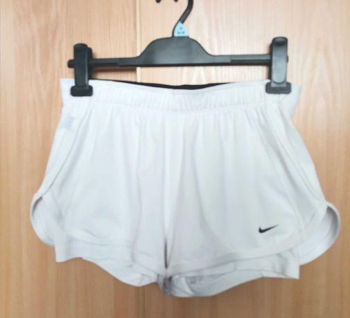 Nike Tennis Dry-fit roz S spodenki damskie podwójne