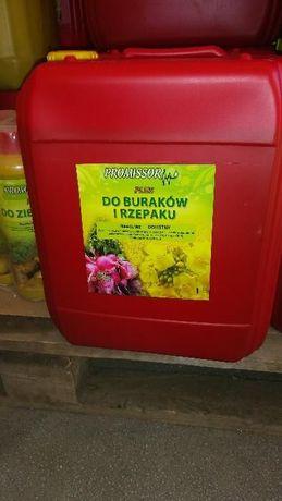 Nawóz dolistny Plus do zasilania Buraków i Rzepaku 20 L 2 - 3 L/ha