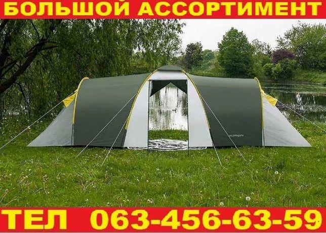 Палатка туристическая 6-х местная Двухслойная Намет (Польша)