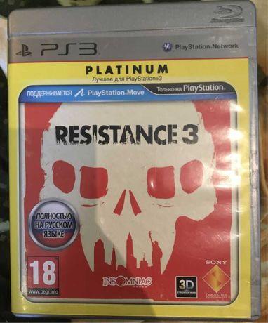 Игра Resisatnce 3 playstation 3