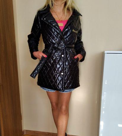 HIT CUDNY płaszczyk czarny pikowany L XL paparazzi fashion GRATIS WYS