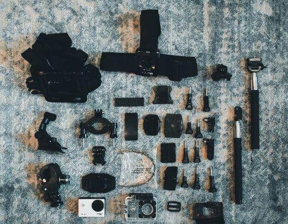 Kamerka sportowa Active Sport Camera + akcesoria