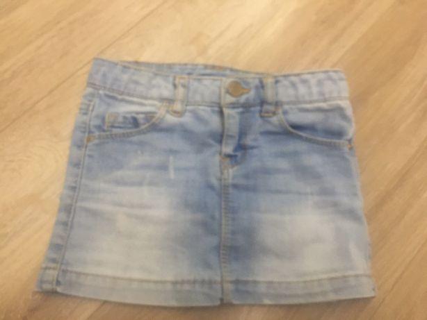 юбка джинсовая Zara состояние отличное