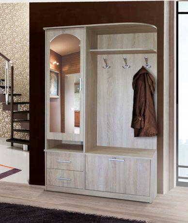 Garderoba I szafa, lustro + wieszak 12 kolorów