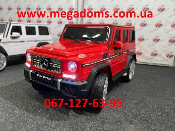 Детский электромобиль джип гелик М 3567 красный мерседес Днепр