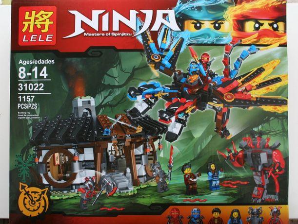 Klocki Lele jakości lego ninja smok
