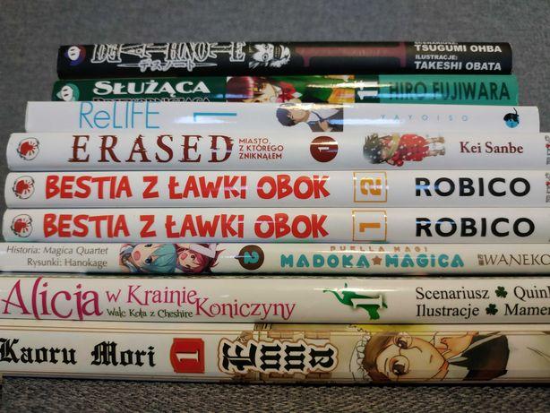 Manga różne mangi pojedyncze tomy