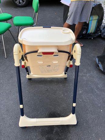 Cadeira de refeicao alta para bebe
