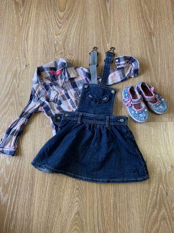 Одежда на девочку 86-92 см( 2-3года)
