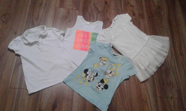 Ubranka letnie t shirt r. 128