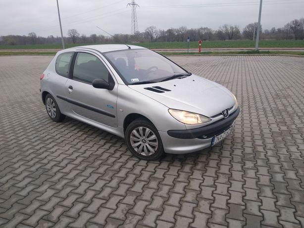 Peugeot 206 *1,4 benzyna* klimatyzacja
