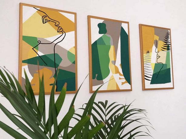 Quadros conjuntos minimalistas
