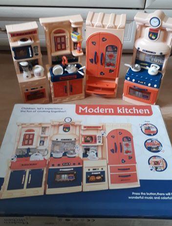 Кухня детская,  кухня для кукол,  игрушечная кухня большая, звук, свет