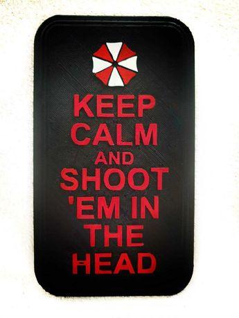Placa Resident Evil
