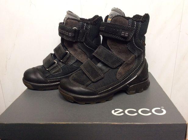 Зимние сапоги ECCO BIOM HIKE KIDS 28 размер+меховые стельки Collonil