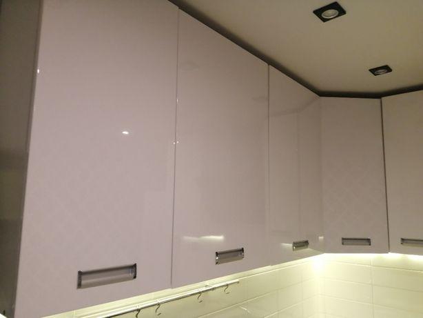 Kuchnia - szafki wiszące. Biały połysk. Wys. 95 cm rezerwacja