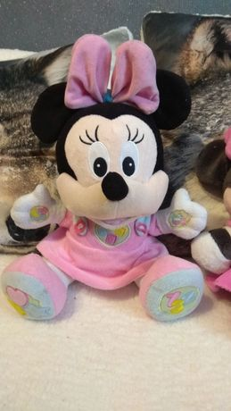 Myszka Minnie Clementoni zabawka interaktywna edukacyjna maskotka