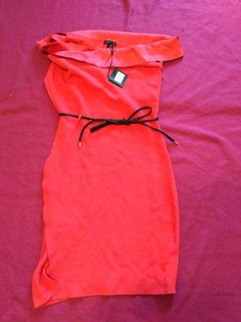 продам платье коралловое