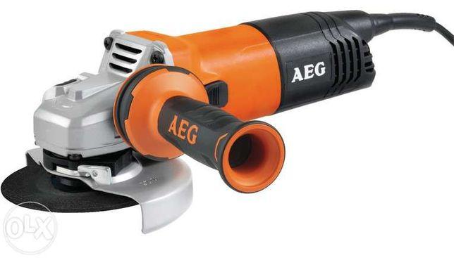 Rebarbadora / Rebarbadeira AEG WS 9-115 para discos 115 mm