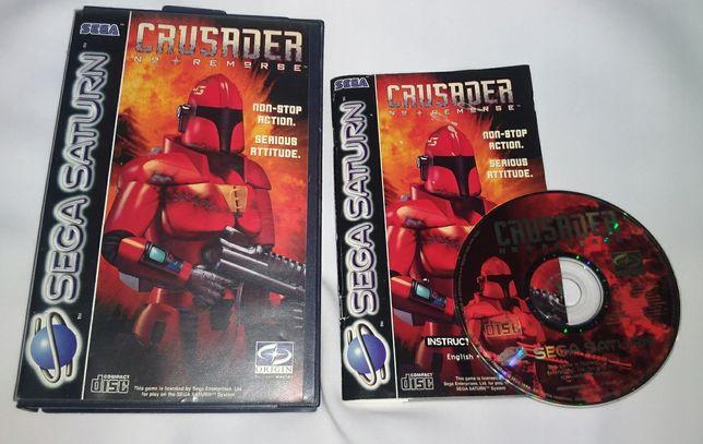 Crusader No Remorse (Sega Saturn) PAL komplet