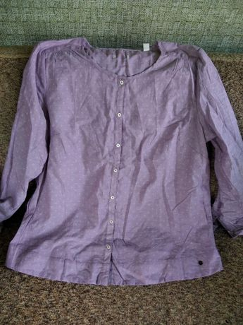 Блуза лавандового цвета