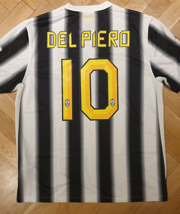 Koszulka Juventus home 11/12 XL Del Piero ONE LOVE Gliwice - image 1