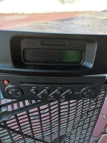 Radio, daszek Traffic 2006r