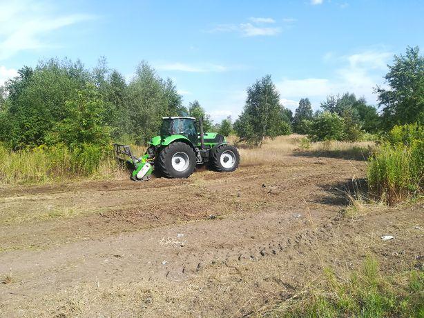 Mulczowanie terenu Mulczer Leśny czyszczenie działek Wycinka drzew