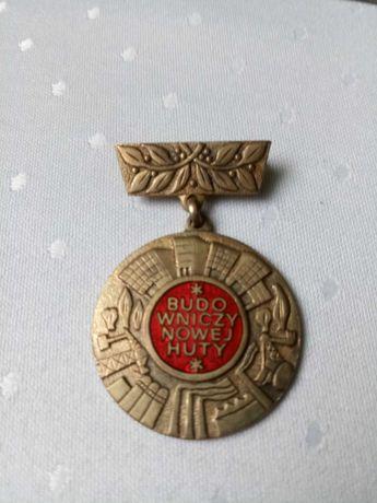 Odznaka Budowniczy Nowej Huty - oryginal