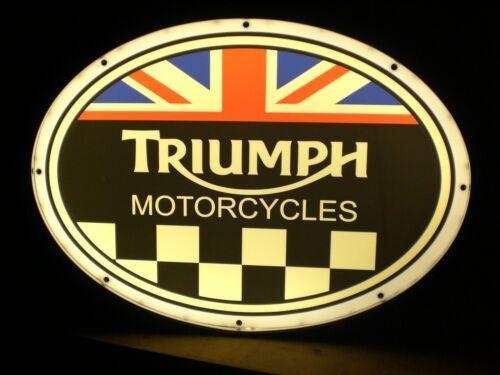 Reclame luminoso Triumph Motorcycles