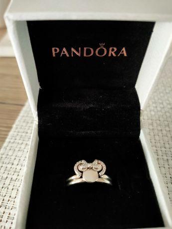 Pandora pierścionki do łączenia Myszki Minnie i Miki
