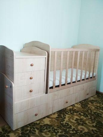 Детская кровать 5 в 1