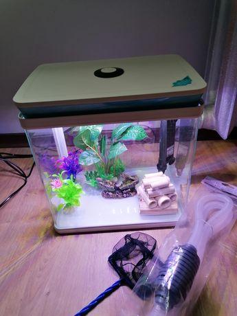 Gotowe akwarium plus wyposażenie.