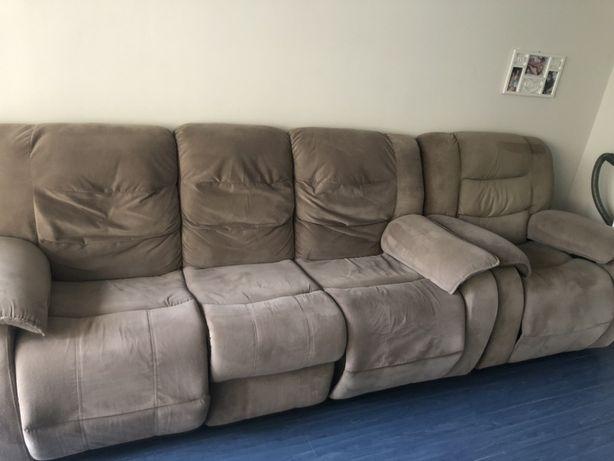 Kanapa i fotel zestaw komplet wypoczynkowy 3+1