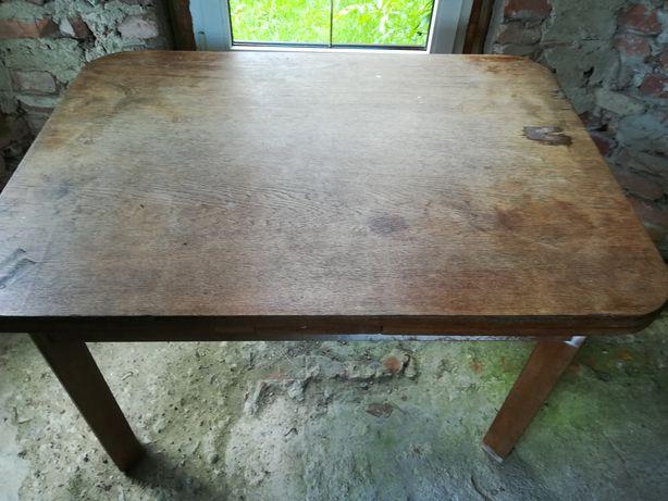 Stół dębowy rozkładany na 10 osób