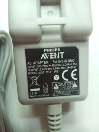 Блок питания Philips Avent AD6172LF для молокоотсоса 5.85V1.54A