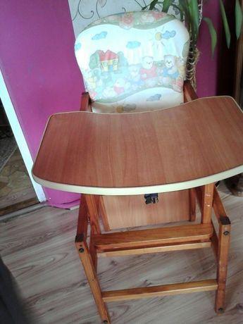 Stolik +krzesełko krzesło do karmienia