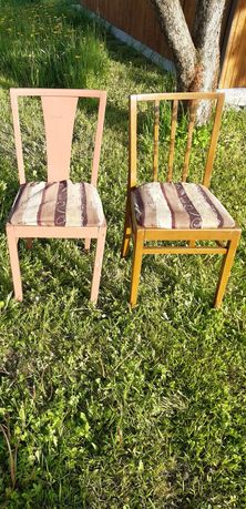 Krzesła PRL Retro Vintage