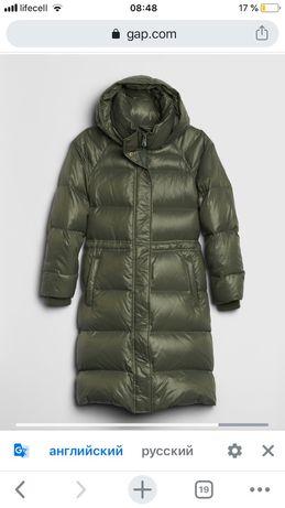 Пуховик гэп, курточка куртка  зимняя пух Gap размер S на M, Zara, H&M